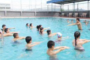 Quận Hoàng Mai phát động toàn dân tập luyện môn bơi và phòng chống đuối nước năm 2019