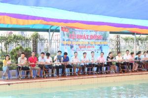 Huyện Thanh Oai phát động toàn dân tập luyện môn bơi, phòng chống đuối nước năm 2019