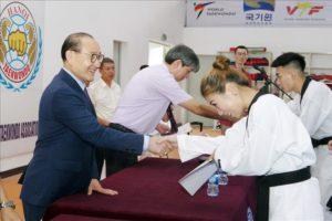 Tập huấn trọng tài, huấn luyện viên taekwondo Hà Nội năm 2019