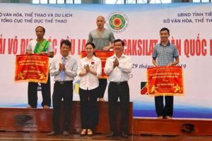 Hà Nội dẫn đầu giải vô địch Pencak Silat trẻ toàn quốc 2019