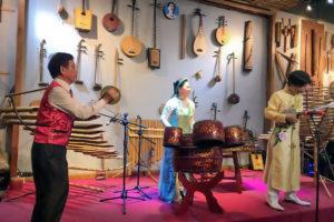 Bá Phổ nhạc đường – không gian văn hóa nhạc cụ truyền thống Việt