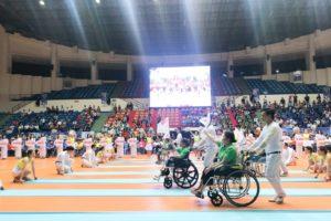 Khai mạc Giải vô địch môn điền kinh và bơi thể thao người khuyết tật toàn quốc 2019