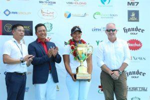 Golfer Hà Nội Nguyễn Thảo My giành chức vô địch Giải golf nữ quốc gia 2019