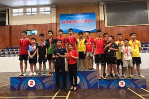 Giải bóng bàn TP Hà Nội 2019 thu hút 200 VĐV tham dự