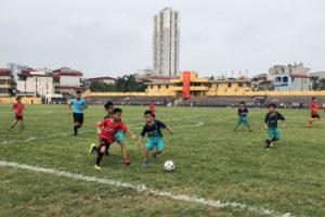 26 đội bóng tham dự giải bóng đá thiếu niên thành phố Hà Nội năm 2019