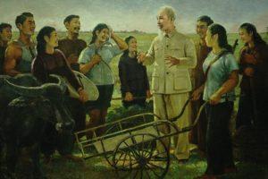 Trưng bày 50 tác phẩm tiểu biểu về Bác Hồ của nhiều thế hệ nghệ sỹ Việt
