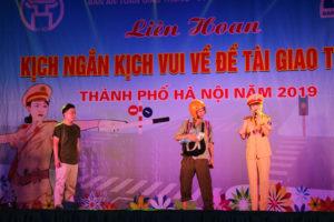 Liên hoan kịch ngắn, kịch vui về đề tài giao thông TP Hà Nội 2019