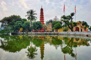 Chùa Trấn Quốc lọt top 20 kiến trúc Phật giáo đẹp nhất thế giới