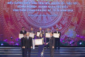Hội nghị biểu dương người tốt việc tốt, vinh danh Công dân Thủ đô ưu tú 2019