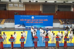 Khai mạc Giải vô địch Jujitsu toàn quốc lần thứ nhất năm 2019