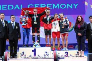 Đô cử Hà Nội Vương Thị Huyền giành HCĐ giải Vô địch thế giới 2019