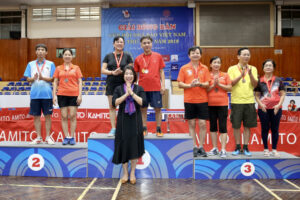 Kết thúc Giải Bóng bàn Cúp Hội Nhà báo Việt Nam 2019