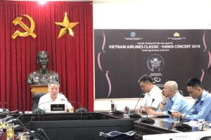 """Họp báo giới thiệu chương trình hòa nhạc """"Vietnam Airlines Classic – Hanoi Concert 2019"""""""
