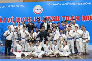 Chủ nhà Hà Nội dẫn đầu tại Giải vô địch Jujitsu toàn quốc lần thứ I năm 2019