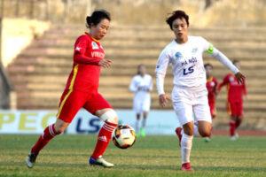Hà Nội chưa từ bỏ cuộc đua vô địch giải bóng đá nữ VĐQG 2019