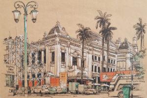 Hành trình ký họa châu Á Hà Nội 2019