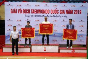 Taekwondo Hà Nội đứng nhất toàn đoàn nội dung đối kháng cá nhân nữ