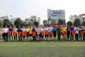 Quận Hà Đông khai mạc Giải bóng đá Thanh niên và Công nhân viên chức lao động năm 2019