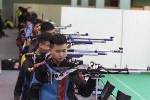 Hà Nội tạm đứng thứ hai tại giải vô địch Bắn súng toàn quốc năm 2019