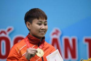 Nữ võ sĩ Bùi Yến Ly nhận danh hiệu Phụ nữ Thủ đô tiêu biểu năm 2019