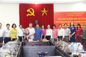 Sở VHTT Hà Nội bảo vệ xuất sắc cấp Thành phố đề tài về phát triển văn hoá, xây dựng người Hà Nội thanh lịch, văn minh, bảo đảm an sinh xã hội