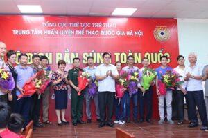 Các xạ thủ Hà Nội cán đích ở vị trí thứ 2 và phá 1 kỷ lục tại Giải vô địch Bắn súng quốc gia 2019