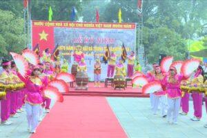 Lễ kỷ niệm Ngày Hai Bà Trưng tế cờ khởi nghĩa
