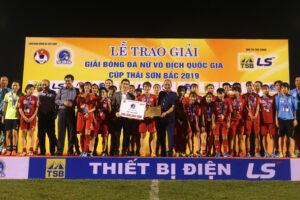 Hà Nội giành ngôi Á quân giải Bóng đá nữ VĐQG 2019