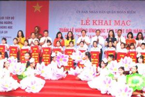 Quận Hoàn Kiếm khai mạc Tuần lễ hưởng ứng học tập suốt đời năm 2019