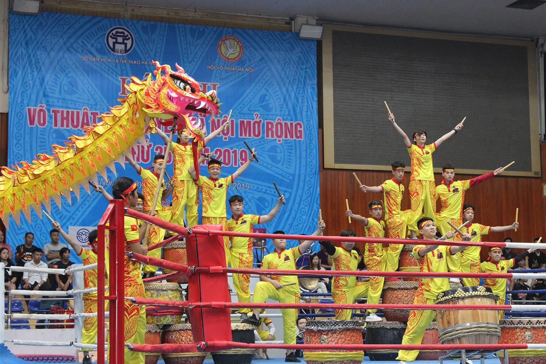 Gần 4.000 võ sinh Hội thi võ thuật cổ truyền Hà Nội mở rộng lần thứ 35 năm 2019