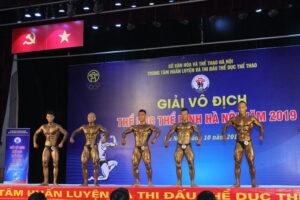 Gần 100 VĐV tham gia giải Vô địch Thể hình Hà Nội năm 2019