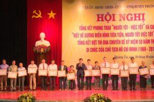 """Huyện Thường Tín biểu dương 163 gương """"Người tốt, việc tốt"""" tiêu biểu năm 2019"""