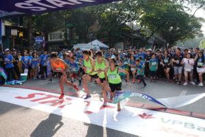 VPBank Marathon trở thành một giải chạy quốc tế lớn
