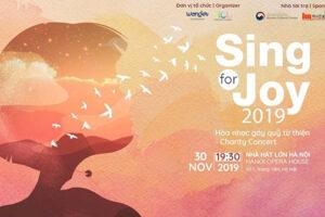 'Vui ca – Sing for joy 2019': Âm nhạc của sự kết nối