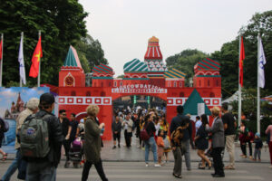 'Lễ hội Văn hóa đường phố'  trong 'Những ngày Mátxcơva tại Hà Nội'