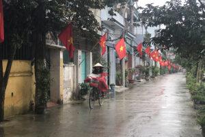 Sơn Tây tích cực chỉnh trang tạo diện mạo mới cho nhiều tuyến ngõ, phố, đường làng