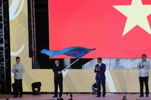 Việt Nam nhận cờ đăng cai SEA Games 31