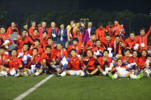 Bóng đá Việt Nam giành HCV lịch sử sau 60 năm chờ đợi ở SEA Games