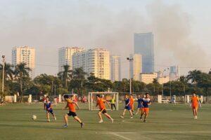 Khai mạc Giải bóng đá thanh niên quận Nam Từ Liêm năm 2019