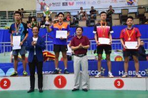 Tay vợt Hà Nội Nguyễn Anh Tú vô địch giải các cây vợt xuất sắc năm 2019