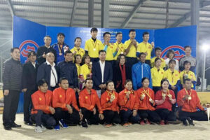 Việt Nam xếp Nhì toàn đoàn tại giải Vô địch Bi sắt châu Á 2019