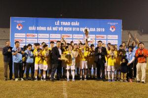 Hà Nội vô địch Giải Bóng đá nữ U19 quốc gia năm 2019