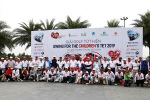 Giải golf từ thiện Swing for the children's Tet 2020: Mang Tết đến cho các em nhỏ khó khăn