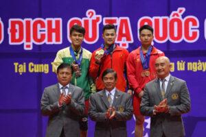 Hà Nội chiến thắng áp đảo ở giải vô địch Cử tạ quốc gia năm 2019