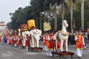 Long trọng Lễ kỷ niệm 1980 năm khởi nghĩa Hai Bà Trưng và khai mạc Lễ hội Đền Hai Bà Trưng Xuân Canh Tý