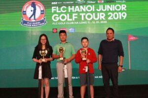 Kết thúc Giải golf trẻ Hà Nội năm 2019