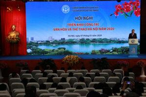 Ngành Văn hoá –Thể thao Hà Nội triển khai công tác năm 2020