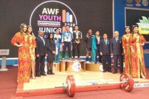 Giải vô địch cử tạ trẻ châu Á 2020: Việt Nam đoạt 13 HCV