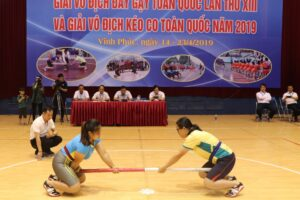 Giải vô địch Đẩy gậy và Kéo co toàn quốc năm 2020 sẽ diễn ra vào cuối tháng 4
