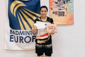 Tay vợt Hà Nội Nguyễn Thùy Linh giành Á quân giải Cầu lông Áo mở rộng 2020